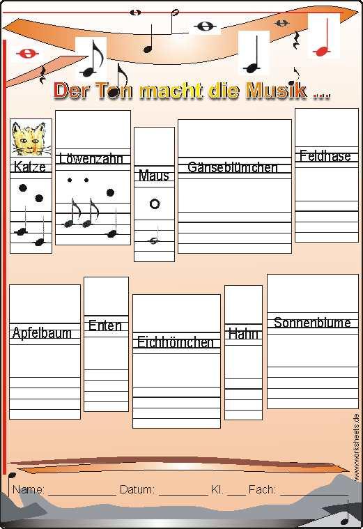 Töne machen Musik