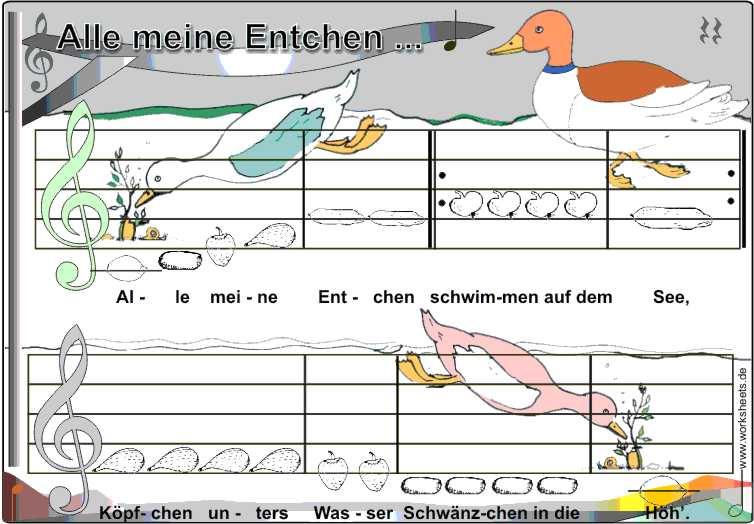 Alle_meine_entchen on Art Worksheets
