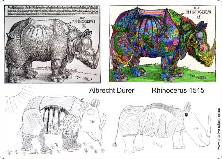 albrecht d rer 1471 1528 n rnberg rhinocerus 1515. Black Bedroom Furniture Sets. Home Design Ideas