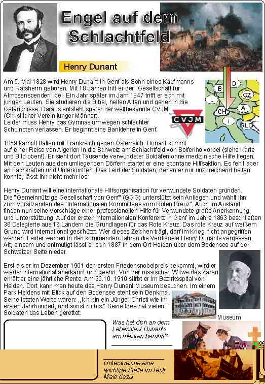 Henry Dunant: Engel auf dem Schlachtfeld