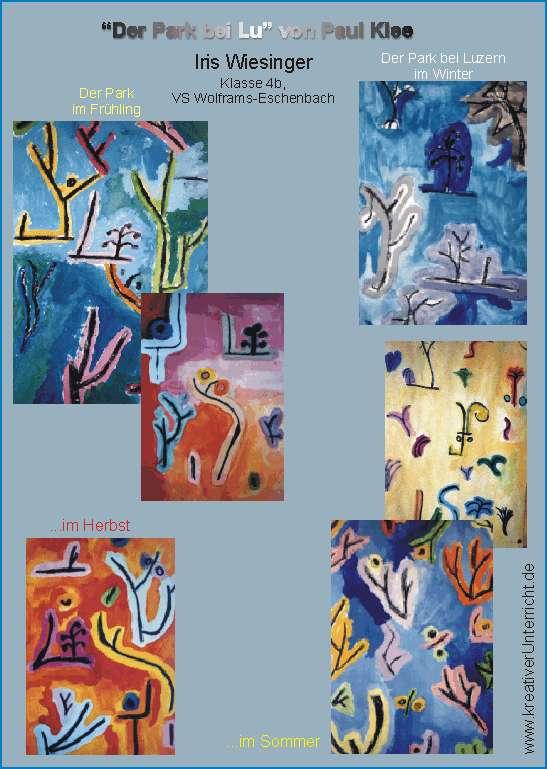 Paul Klee Der Park Bei Lu