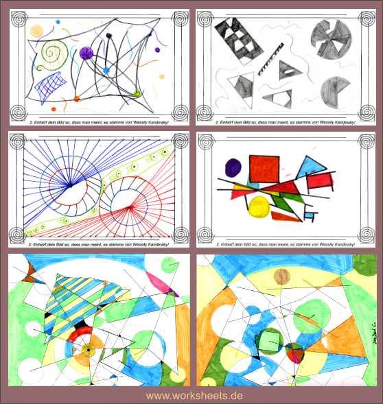 ergebnisse aus der probe in der sechsten klasse bechhofen - Wassily Kandinsky Lebenslauf