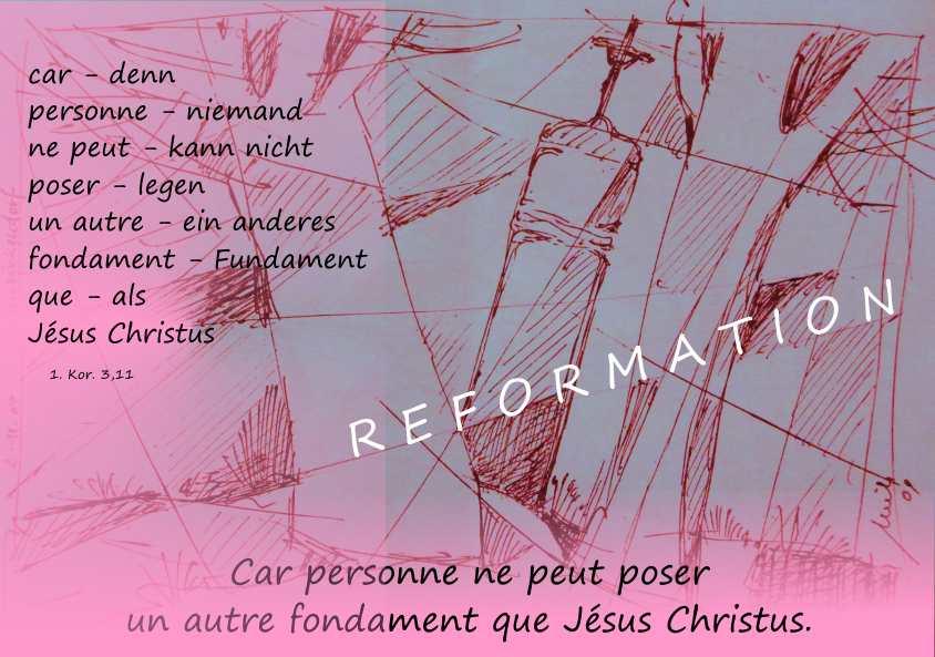Reformation oder Halloween feiern - Arbeitsblatt