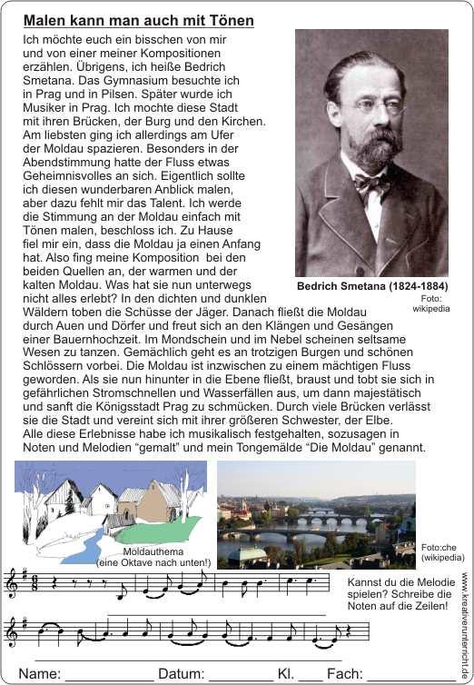 Werk und Lebenslauf Smetanas